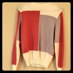 New York & Company Eva Mendes mock neck sweater
